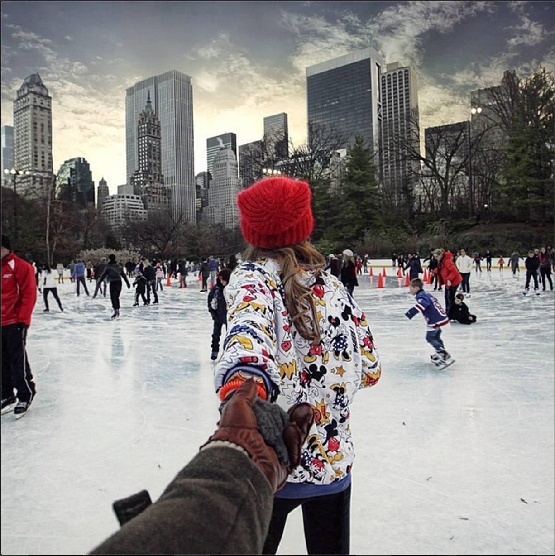 Девушки зимой фото инстаграм