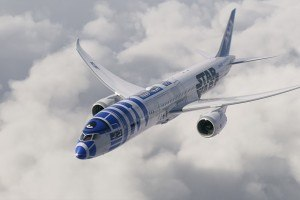 The Force is Strong With This Japanese Airline's 'Star Wars' Boeing 787