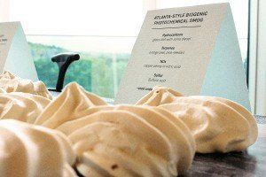 Chefs Put the Focus on Air Pollution With Smog-Flavored Meringue Puffs