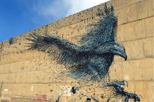 The Stunningly Intricate Street Art of Secretive Artist DALeast