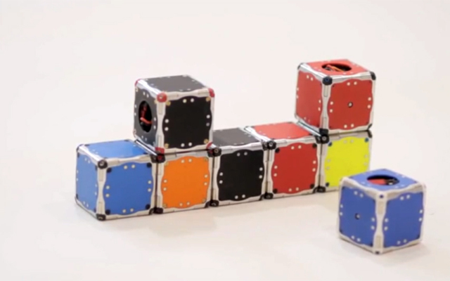 Self-Assembling Robotic Cubes Today, Transformer Apocalypse Tomorrow