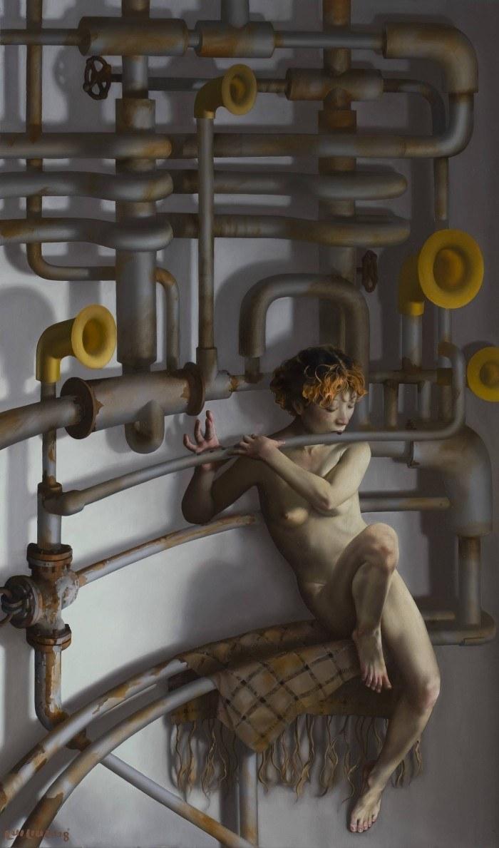 Lui-Liu-2008-Hearty-Songs-150x90cm