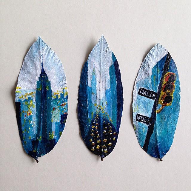 joanna-wirazka-paints-on-leaves_2