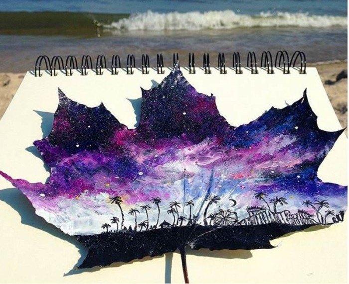 paintings-leaves