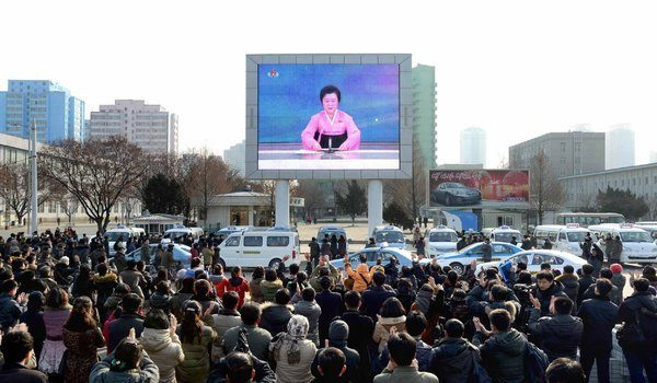 North Korean State TV announces successful H-Bomb test