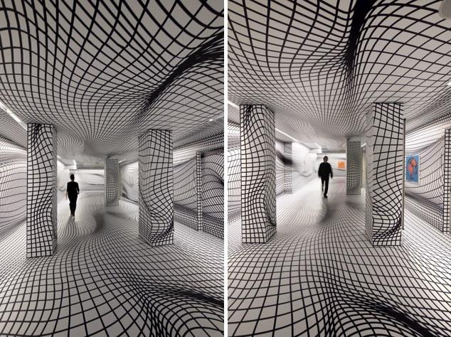 Get Lost In Peter Kogler S Mind Bending Illusion Rooms