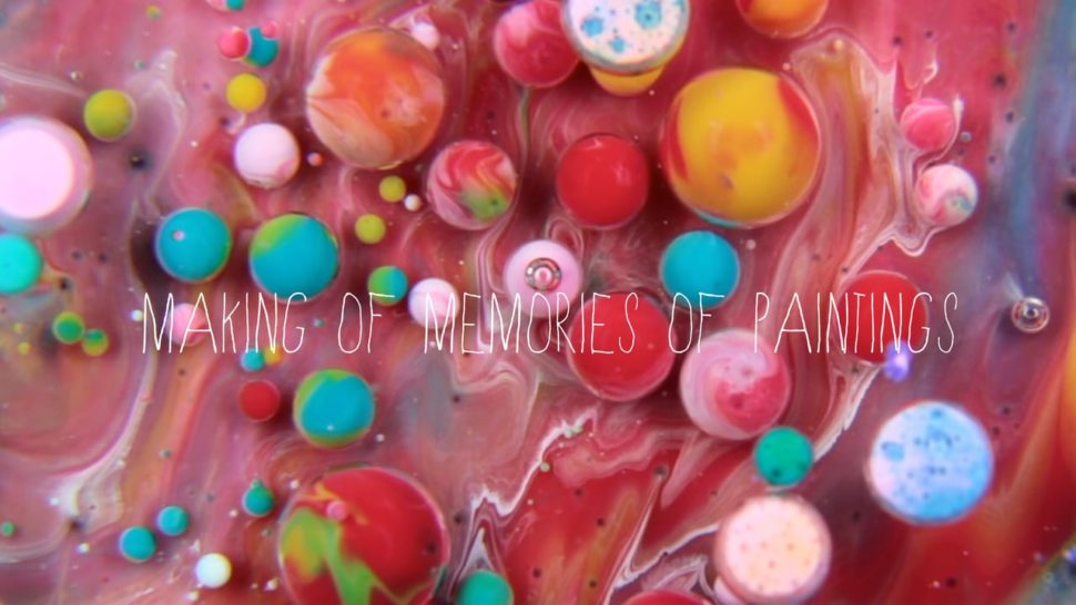 This Video of Milk, Paint and Soap Mixing is Like a Massage for Your Brain