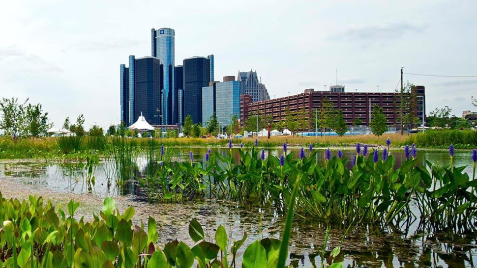 How Detroit is Becoming a Leader in Green Infrastructure