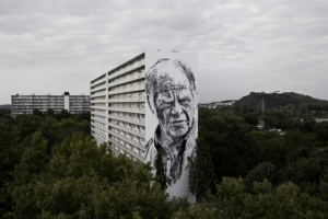 Hendrik Beikirch: Giant Portraits in the Urban Jungle