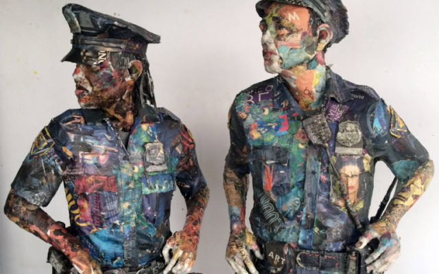 Will Kurtz Creates Life-Like Sculptures Entirely From Newspaper