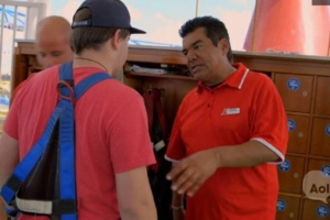 George Lopez Cuts It Up With Cruise Ship Passengers