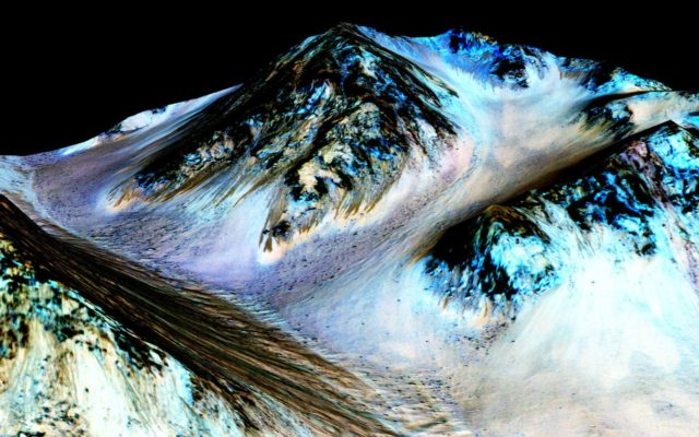 Life on Mars: Water Today, Humans Tomorrow?