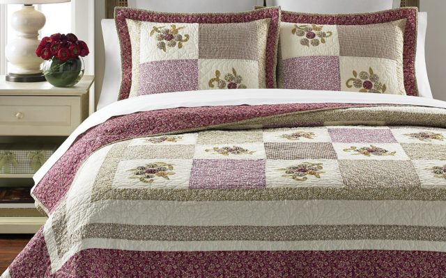 Martha Stewart's Quilt Collection Provides Beautiful Touch to Any Bedroom