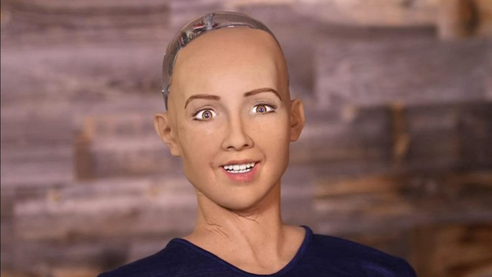 This Creepy Robot Said it Straight: She Wants to Destroy Humans