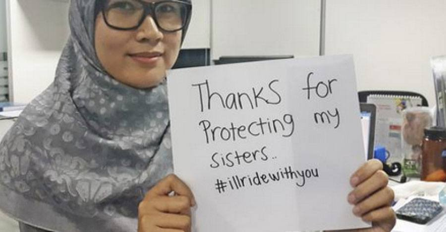Inspiring 'I'll Ride With You' Anti-Terrorism Campaign Took Over Twitter This Week