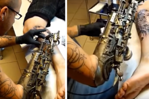 This Amazing Prosthetic Arm is Also a Tattoo Machine