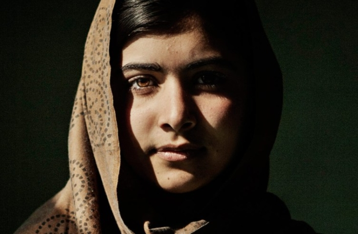 """Malala Yousafzai, 14, student at Khushal School & College in Mingora, Sawat, Pakistan on January 24, 2011."" credit: Asim Hafeez"