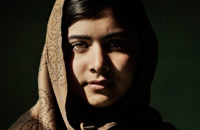 """Malala Yousafzai, 14, student at Khushal School & College in Mingora, Sawat, Pakistan on January 24, 2011."" credit: Asim Hafeez"
