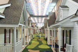 Elder Care Facility Looks Like Cute Neighborhood to Make People Feel at Home