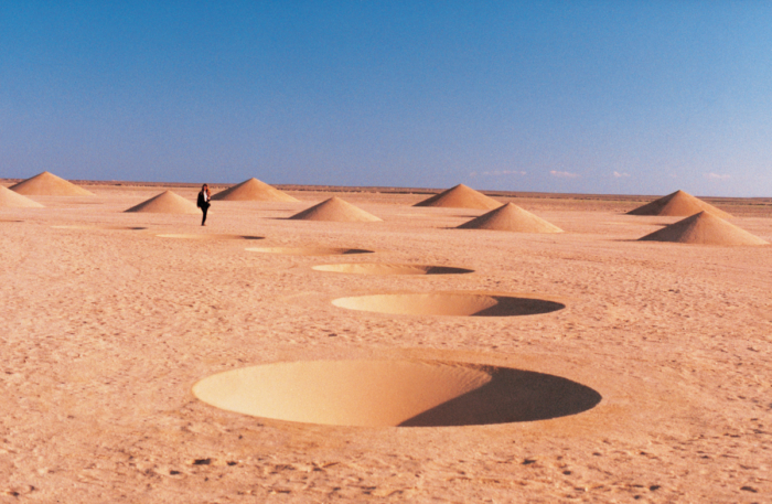 How Did This Giant Spiral in the Middle of the Sahara Desert Get ...