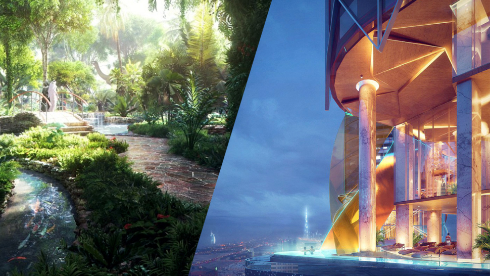 "The World's First ""Rainforest Hotel"" is Coming to Dubai, and it Looks Insane"