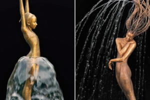 This Artist Brings Her Stunning Sculptures to Life Using Water
