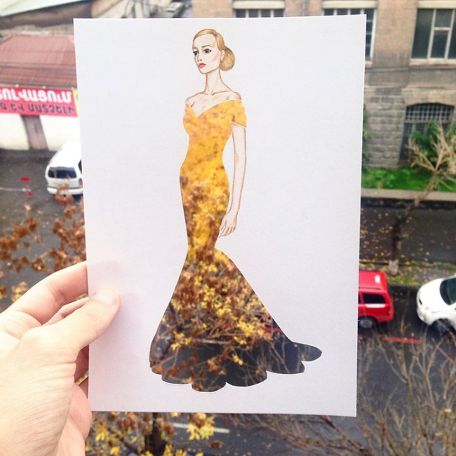 Fashion Designer Uses Everyday Objects To Create Wildly Imaginative Dresses