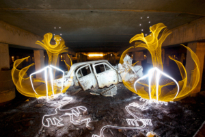 This Creative Photographer Takes Light Painting to a Whole New Level