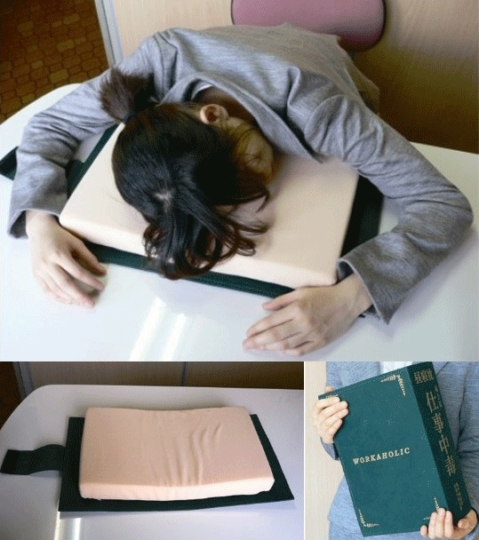 A Book-Shaped Pillow – For When You Can't Deal With Life
