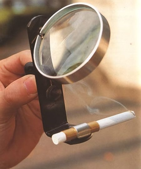 A Solar-Powered Cigarette Lighter