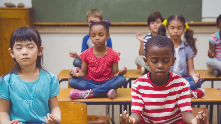 This School Replaces Detention With Meditation, and Kids Love It