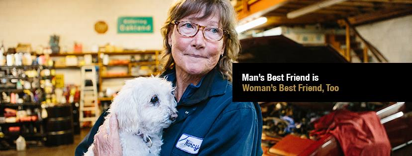 Photo Series Proves That Dogs Aren't Just A Man's Best Friend, But A Woman's Too
