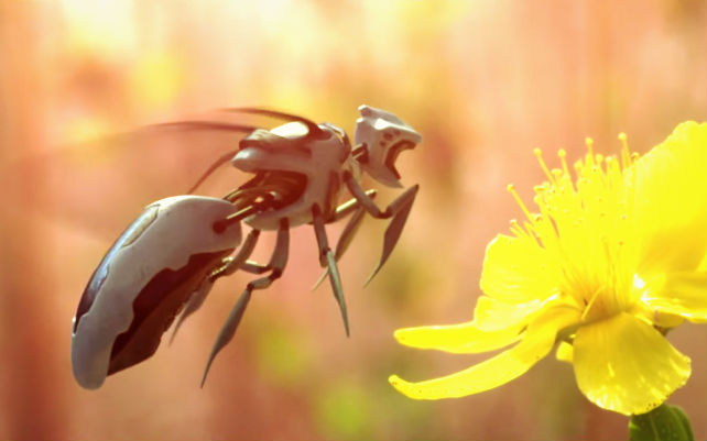 Why We Should Be Excited About Not Scared Of Robot Bees