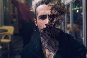 Half Man, Half Plant: These Portraits are so Realistic it's Disturbing