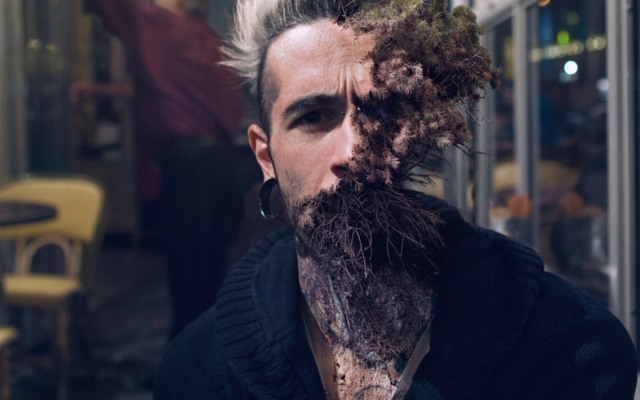 Half Man, Half Plant: These Portraits are so Realistic it's Disturbing