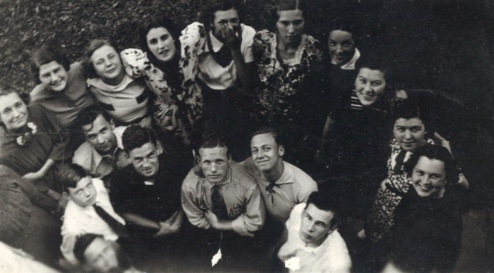 Aquin High School class of 1941, courtesy of the school.