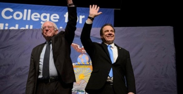 Cuomo and Sanders 4