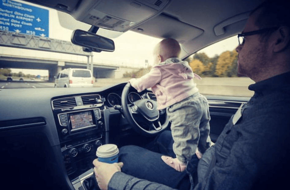 This Dad Photoshopped His Baby in Dangerous Situations – and Everyone Fell For It