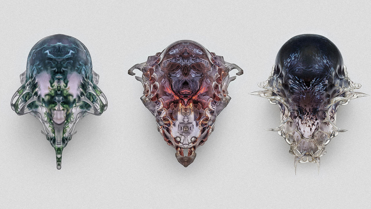 MIT's Version of Ancient Death Masks Are Like Something From a Sci-Fi Movie