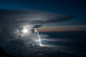 Pilot Takes Photos of Storms From Cockpit Like We've Never Seen Before