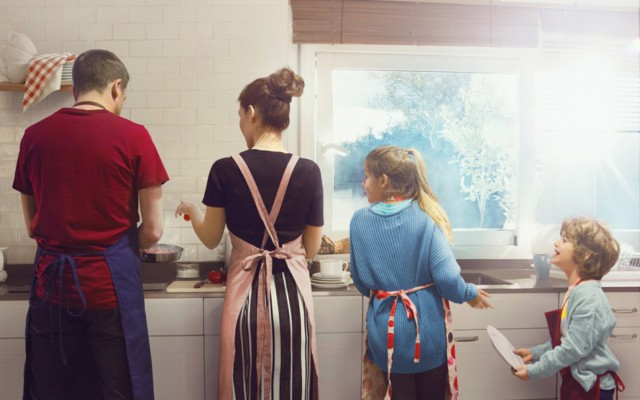 The Big Family Switch Up Takes On Gender Equality At Home