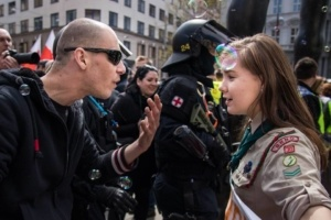 This Brave Girl Scout Confronting a Neo-Nazi is Taking the Internet by Storm