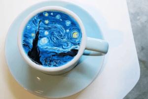 This Korean Artist Takes 'Latte Art' to a Whole New Level
