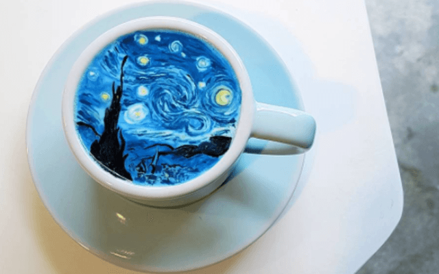 This Korean Artist Takes 'Latte Art' to a Whole New Level