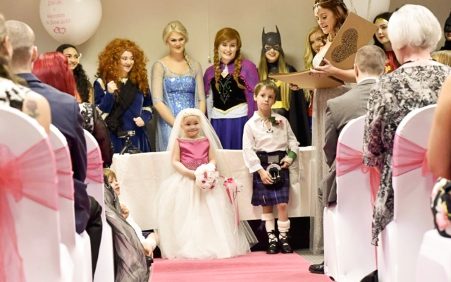 A Terminally Ill Girl Got the Fairy Tale Wedding She Dreamed Of