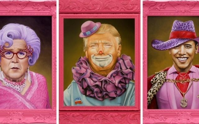 Artist Gives History's Most Infamous People a Hilarious Makeover