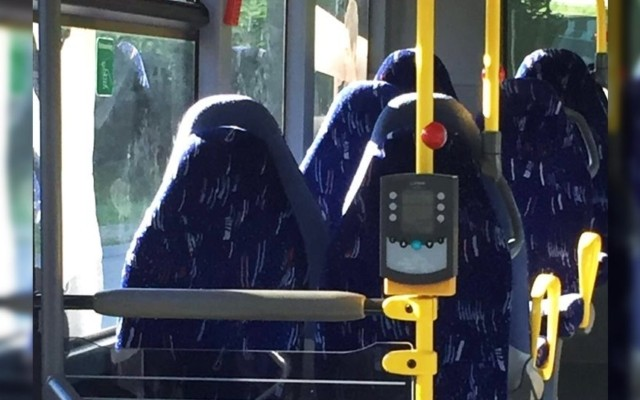 Anti-Immigration Group Mistakes Empty Bus Seats for Burqas