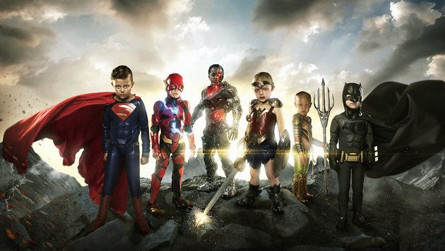 Dad Turns Sick Kids Into Superheroes in This Epic Photoshoot