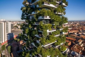 These Plant-Covered Skyscrapers are Meant to Fight Pollution in Cities