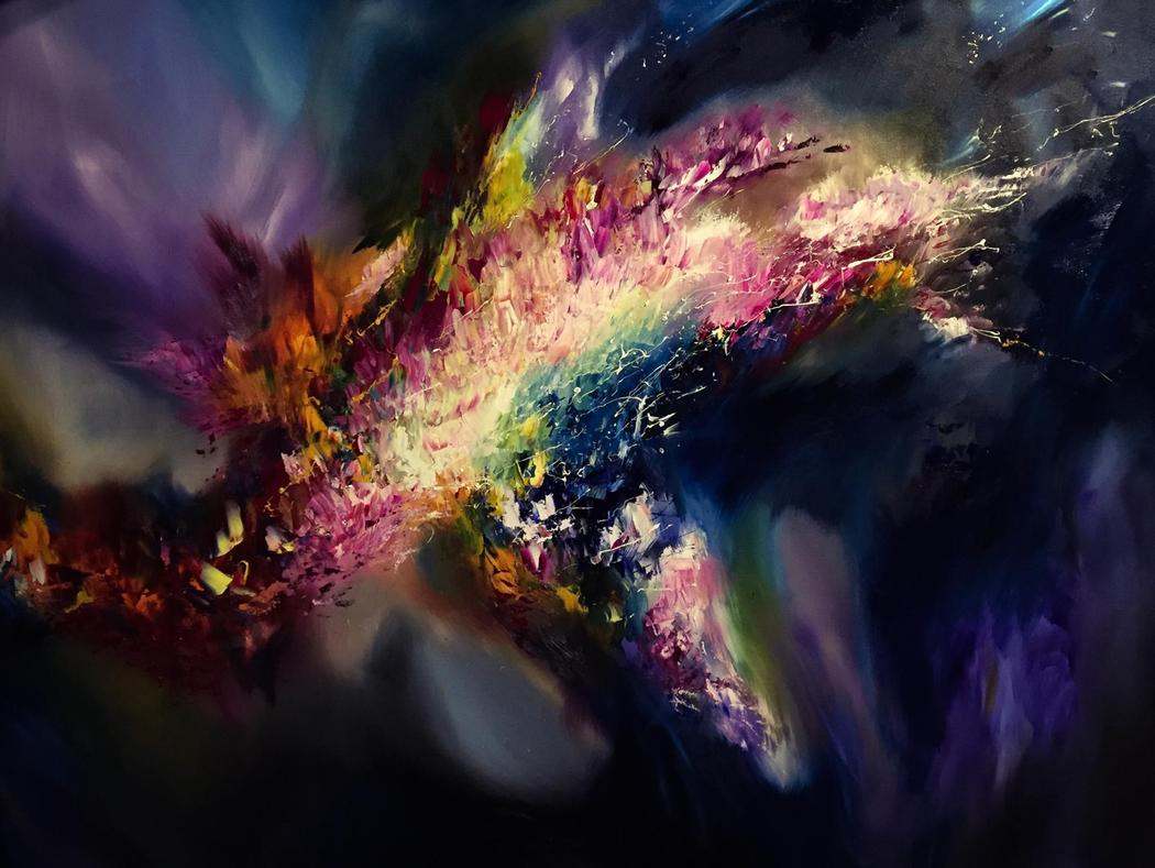 This Artist Can 'Paint' Your Favorite Songs Because of a Rare Neurological Condition